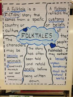 characteristics of a folktale anchor chart - Bing images Library Lessons, Reading Lessons, Teaching Reading, Learning, Reading Notes, Reading Tips, Library Ideas, Art Lessons, 2nd Grade Ela