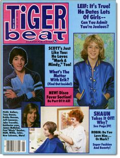Tiger Beat with Scott Baio and Leif Garrett (May 1979)