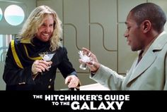 Movies-Hitchhiker's Guide To The Galaxy-Zaphod Beeblebrox  Ford Prefect