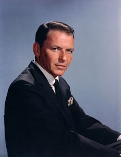"Francis Albert Sinatra, ""Old Blue Eyes""."