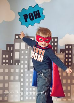 Superhero Party Cape  Blank Super Hero Cape  by NeverlandNook