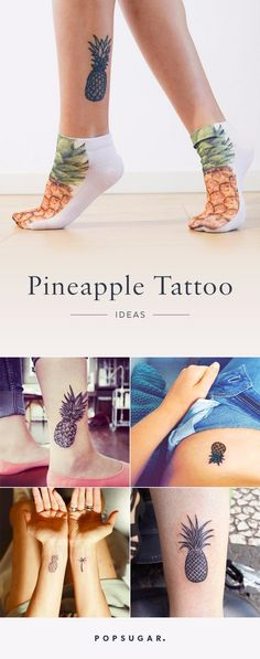 12 Pineapple Tattoo Ideas For Gals Who Are Prickly on the Outside but Sweet on the Inside
