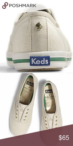 on sale 2803d 9adac Shop Womens kate spade Cream size 5 Sneakers at a discounted price at  Poshmark.