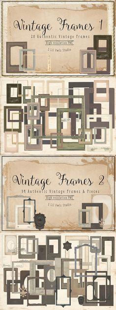 Vintage Frames Bundle…