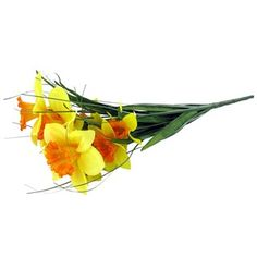 Light Yellow & Orange Daffodil Bush | Shop Hobby Lobby