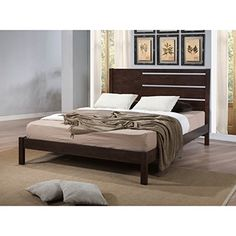 Burke Queen-size Modern Wood Bed