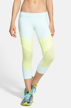 adidas by Stella McCartney 'Run' Three-Quarter Tights