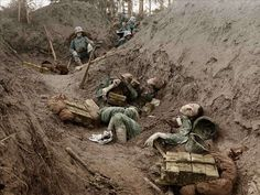 World War I in colour photos The Local Dead Italian soldiers, northern Italy, 1915