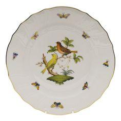 Herend Rothschild Bird, the yellow bird is my favorite of the 12 motifs!
