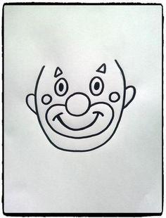 Têtes de clowns en empreintes de mains – Mes humeurs créatives by Flo Clown Crafts, Circus Crafts, Carnival Crafts, Carnival Themes, Circus Theme, Summer Crafts For Kids, Art For Kids, Theme Carnaval, Creative Activities For Kids