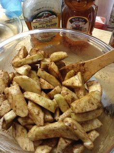 Clean Eating: Apple Crisp Mama Say What?!Mama Say What?!