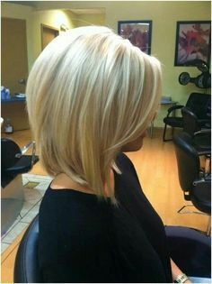 angled bob for fine hair pictures - Google Search