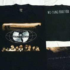 RARE Vintage 90s WU-TANG Forever T-Shirt  #wutang #wu #wear #wuwear #rza #fearofgod #hiphop #rap #2pac #tupac #rare #superrare #ultrarare