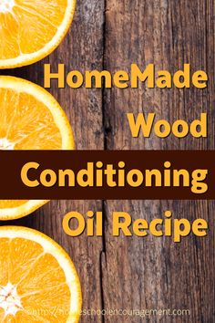 Orange Wood Conditio