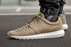 """85a326997636   50 TO GET 2015 New Arrival Nike Roshe Run Run One NM Woven """"Bamboo  Limited Edtion Hot Selling Models 725168-200 Euro 40-45 US 7-11"""