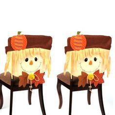 Scarecrow Boy Chair Covers, Set of 2   Kirklands