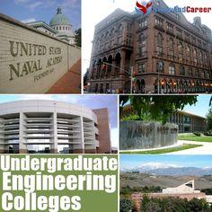 Top Undergraduate Engineering #Colleges