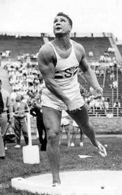 Parry O'Brien-1952 & '56 Olympic shot put champion