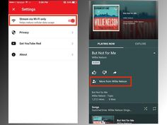 The YouTube Music app now lets you stream only when you are on Wi-Fi.