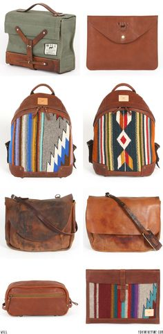 Will leather goods   //   FOXINTHEPINE.COM
