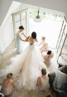 Right! good bride getting ready advise