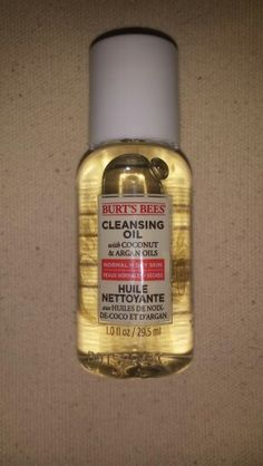 Burts Bees Cleansing Oil~New/Sealed/Deluxe Sample(1 oz.)