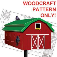 bird house plans barn