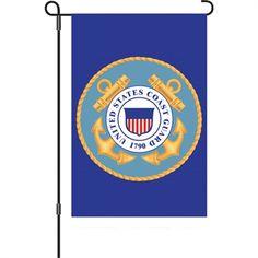 United States Coast Guard House Flag, FREE shipping!