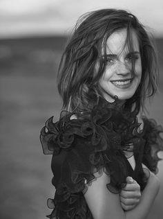 "ewatsondaily: ""Emma Watson photographed by Peter Lindbergh for VOGUE Australia (2018) """