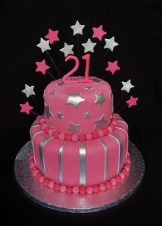 Cake Designs For Birthday For A Girl . Cake Designs For Birthday For A Girl Birthday Cake Girls Birthday Cake Cakes Birthday Cake Models, 21st Birthday Cake For Girls, Sweet Birthday Cake, Creative Birthday Cakes, Birthday Cake With Photo, Birthday Cake Pictures, Birthday Cupcakes, 21 Birthday, Birthday Ideas