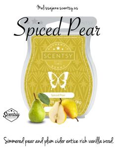Scentsy 2016 | Spiced Pear | New release | Fall & Winter | #scentsy #scentsy…