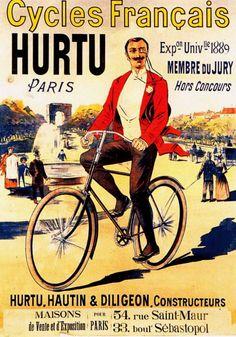 1892 Eugène Ogé Hurtu, Cycles français,