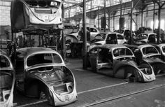 Walter Sanders—Time & Life Pictures/Getty Images Scene at Volkswagen's main plant, Wolfsburg, Germany, July 1951  Read more: http://life.time.com/autos/volkswagen-photos-from-the-wolfsburg-factory-1951/#ixzz2UjUgM4K5