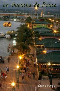 Ponce Puerto Rico     - La Guancha In Ponce , a good place to hang out , eat , hear music  is a family place