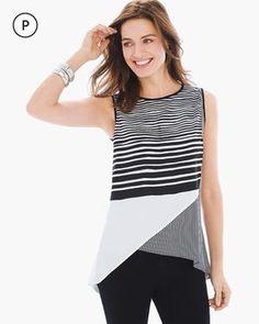 Petite Limitless Stripe Tunic