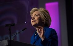 Hillary Clinton Receives Ovation at The Color Purple by MICHAEL PAULSON and MICHAEL BARBARO