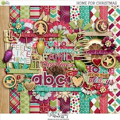 Home For Christmas by Bella Gypsy Designs