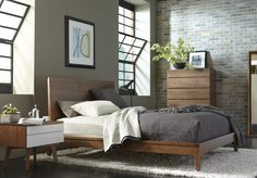 Visit Hertiage Lifestyle Home Furnishings, your local furniture store in Burlington, Ontario. Wood Headboard, Panel Headboard, Headboards, Solid Wood Furniture, Leather Furniture, Reclaimed Wood Paneling, Contemporary Bedroom Furniture, Beautiful Living Rooms, Luxury Bedding