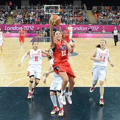 Diana Taurasi......one of the all-time best.  Love watching her game!
