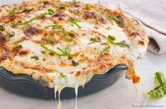 Mozzarella potato pie recipe