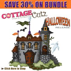 CottageCutz Halloween Bundle (16 items) PRE-ORDER