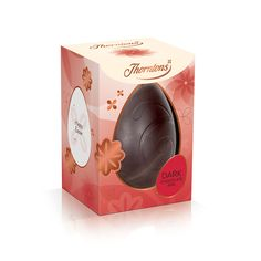 Dark Chocolate Easter Egg - Without personalisation piping as it contains milk.