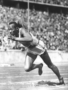 Jesse Owens, Olympic Victory - 1936