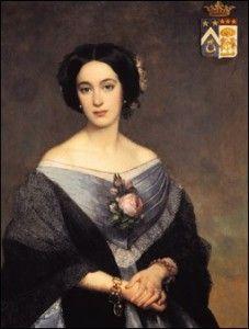 Virginie Pichon de Longueville, Comtesse de Lalande.
