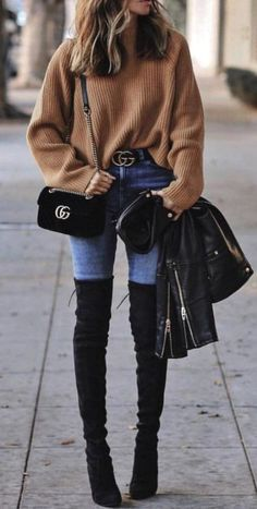 winter outfits for work . winter outfits for school . winter outfits for going out . Winter Outfits For Teen Girls, Stylish Winter Outfits, Winter Outfits Women, Winter Fashion Outfits, Autumn Winter Fashion, Fall Outfits, Casual Outfits, Fashion Fall, Winter Dresses