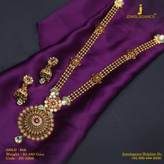 Gold 916 Premium Design Get in touch with us on Indian Jewelry Earrings, Bridal Jewelry, Gold Jewelry, Women Jewelry, Jewelry Necklaces, Jewelry Stand, Jewelry Shop, Jewelry Stores, Rajputi Jewellery
