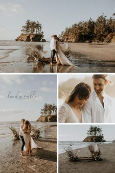 Stunning an unique elopement photos. Beach Elopement, Beach Elopement Photographer, Olympic National Park Elopement, Olympic National Park Elopement Photographer, PNW Elopement, PNW Elopement Photographer, Sunset Beach Elopement, Washington Coast Elopement, Washington Coast Elopement Photographer, Washington Elopement, Washington Elopement Photographer. Creative Couples Photography, Intimate Photography, Outdoor Wedding Photography, Emotional Photography, Beach Elopement, Mountain Elopement, Washington Beaches, Elopement Inspiration, Seattle Wedding