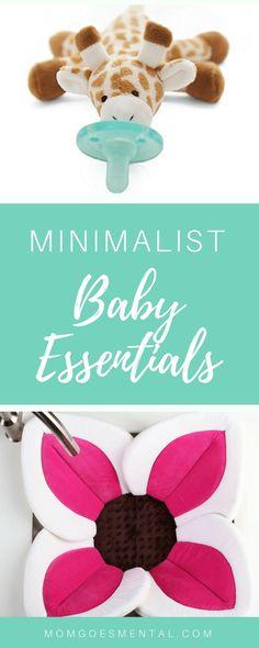Minimalist Baby Essentials List- Baby Essentials for Minimalists- Baby Registry