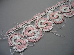 Crocheted edging