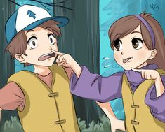 gravity falls anime mabel x dipper - : Yahoo Image Search Results